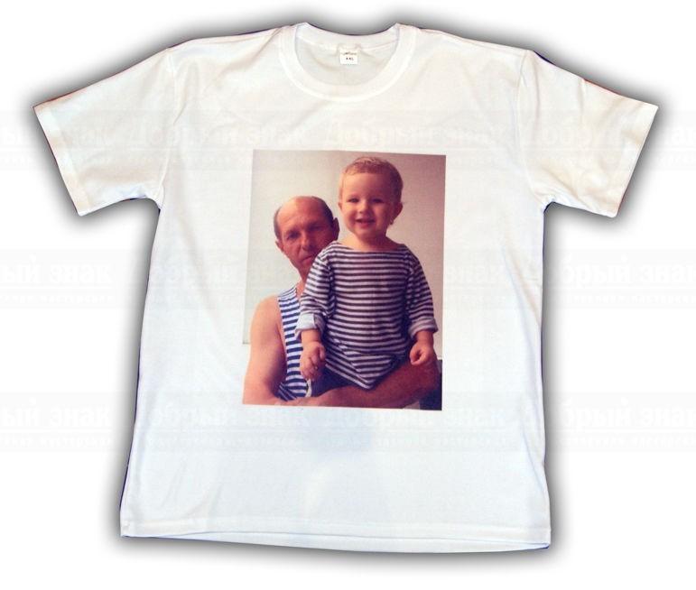 печать фотографий на футболке принтер