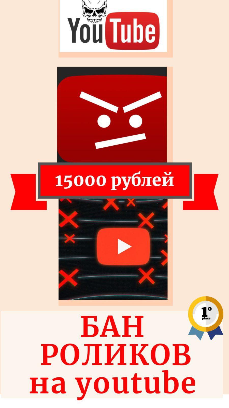 Удалить чужой ролик на ютуб (youtube)